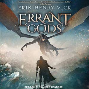Errant Gods audiobook cover art