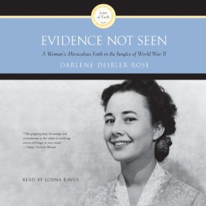 Evidence Not Seen audiobook cover art