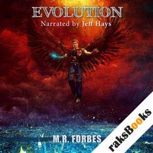 Evolution (The Divine Book 5) audiobook cover art