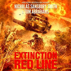 Extinction Red Line audiobook cover art