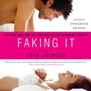 Faking It audiobook cover art