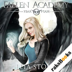 Fallen Academy: Year Four audiobook cover art