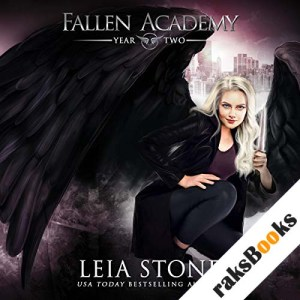 Fallen Academy: Year Two audiobook cover art