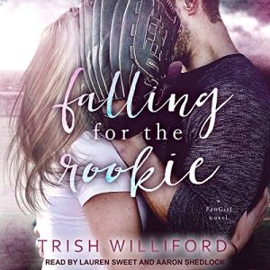 Falling for the Rookie audiobook cover art