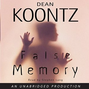 False Memory audiobook cover art