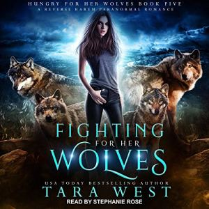 Fighting for Her Wolves audiobook cover art