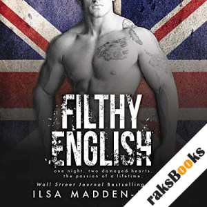 Filthy English audiobook cover art