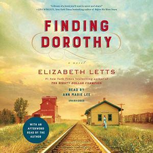 Finding Dorothy audiobook cover art