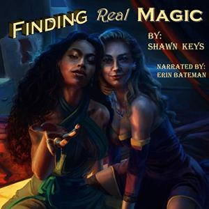 Finding Real Magic audiobook cover art