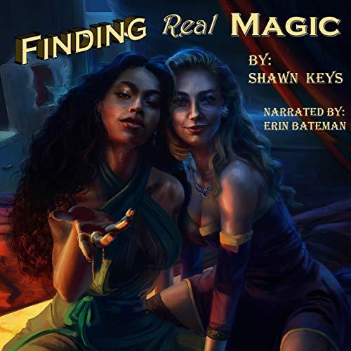 Finding Real Magic audiobook cover art