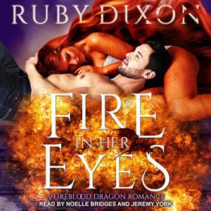 Fire in Her Eyes audiobook cover art