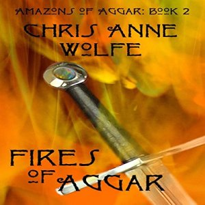 Fires of Aggar audiobook cover art