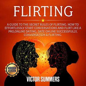 Flirting audiobook cover art