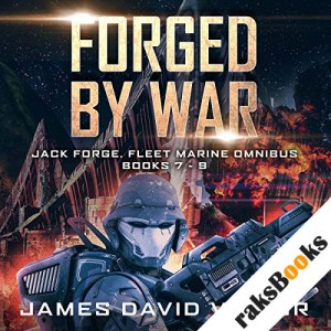 Forged by War Omnibus audiobook cover art