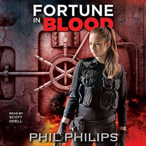 Fortune in Blood audiobook cover art