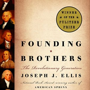 Founding Brothers audiobook cover art