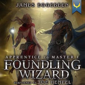 Foundling Wizard audiobook cover art