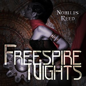 Freespire Nights audiobook cover art