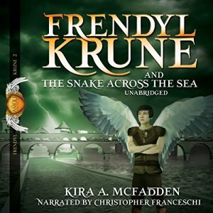 Frendyl Krune and the Snake Across the Sea audiobook cover art