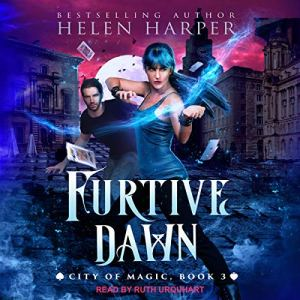 Furtive Dawn audiobook cover art