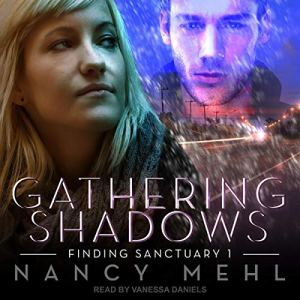 Gathering Shadows audiobook cover art
