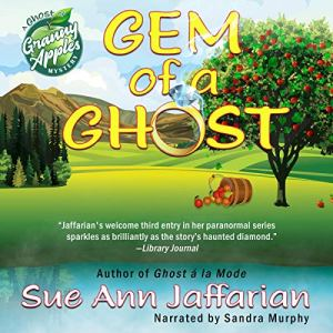 Gem of a Ghost audiobook cover art
