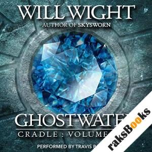 Ghostwater audiobook cover art