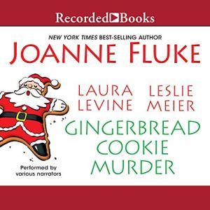 Gingerbread Cookie Murder audiobook cover art