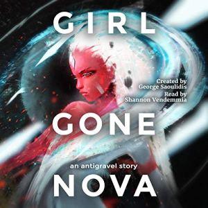 Girl Gone Nova audiobook cover art