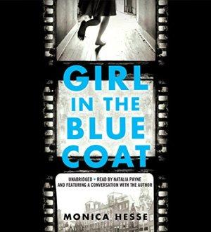 Girl in the Blue Coat audiobook cover art