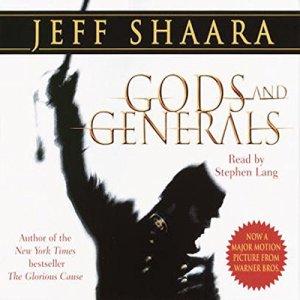 Gods and Generals audiobook cover art