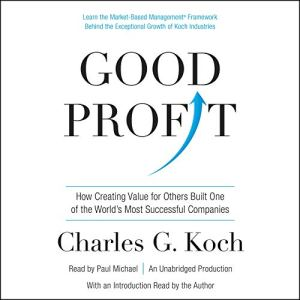Good Profit audiobook cover art