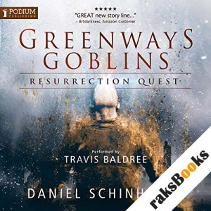 Greenways Goblins audiobook cover art