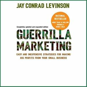 Guerrilla Marketing audiobook cover art