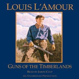 Guns of the Timberlands audiobook cover art