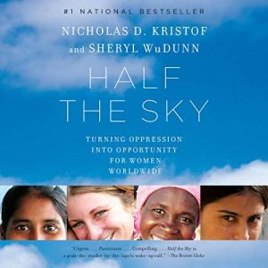 Half the Sky audiobook cover art