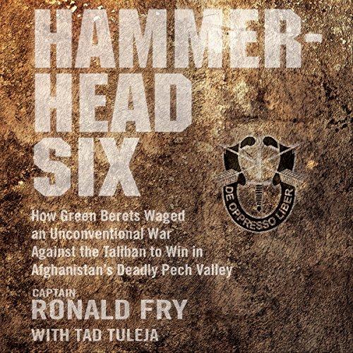 Hammerhead Six audiobook cover art