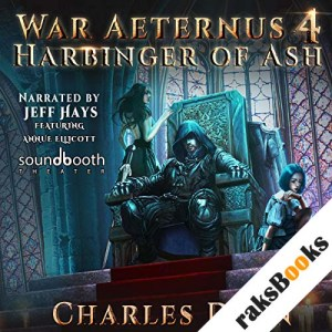 Harbinger of Ash audiobook cover art
