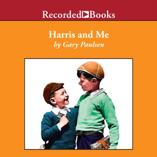 Harris and Me audiobook cover art