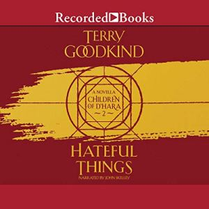 Hateful Things audiobook cover art