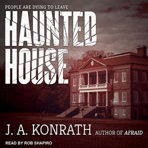 Haunted House audiobook cover art