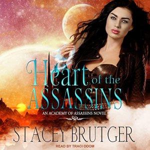 Heart of the Assassins audiobook cover art