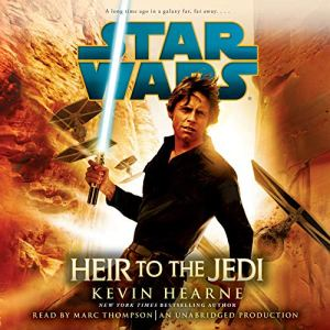 Heir to the Jedi: Star Wars audiobook cover art