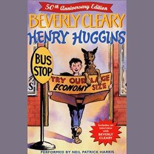 Henry Huggins audiobook cover art