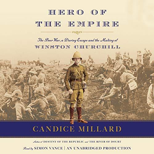 Hero of the Empire audiobook cover art