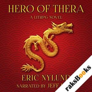Hero of Thera audiobook cover art