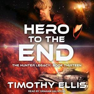 Hero to the End audiobook cover art