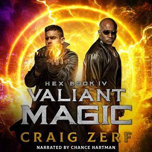 Hex Book IV Valiant Magic audiobook cover art