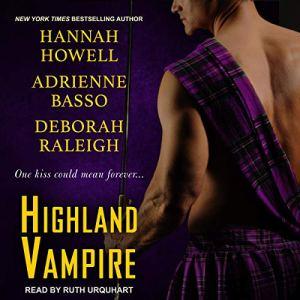 Highland Vampire audiobook cover art