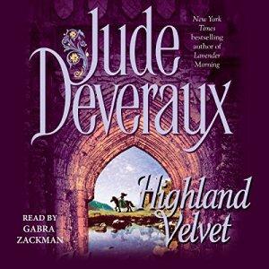 Highland Velvet audiobook cover art